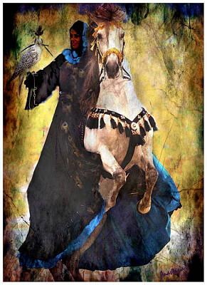 Bakhtiari Falconess Poster by Anastasia Savage Ealy