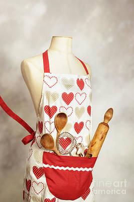 Baking Apron Poster by Amanda Elwell