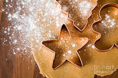 Baking Christmas Cookies Poster