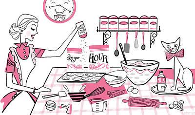 Baking Day Fun Poster
