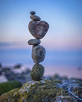 Balanced Heart Poster
