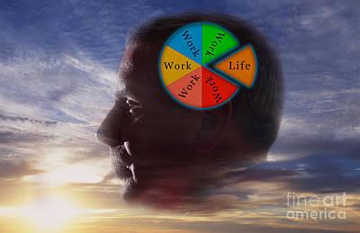 Balancing Work And Life Poster