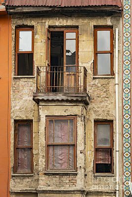 Balat Apartment Building Poster by Bob Phillips