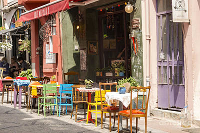Balat Eatery Poster by Bob Phillips