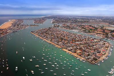 Balboa Island Newport Beach California Poster