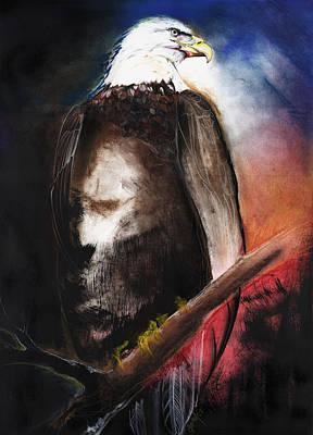 Bald Eagle Poster by Anthony Burks Sr