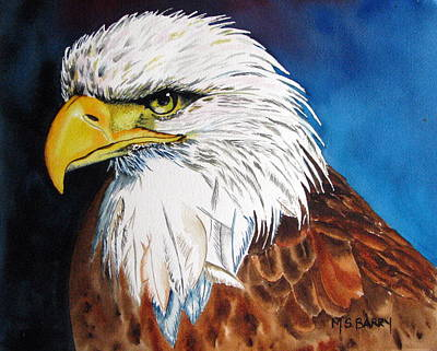 Bald Eagle Poster by Maria Barry
