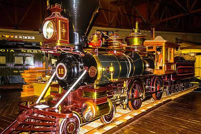 Baldwin Locomotive No. 12 Poster by Garry Gay