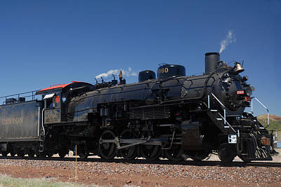 Baldwin Mikado 2-8-2 No 4960 Steam Locomotive Williams Arizona Poster