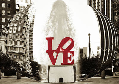 Ball Of Love Poster by Bill Cannon