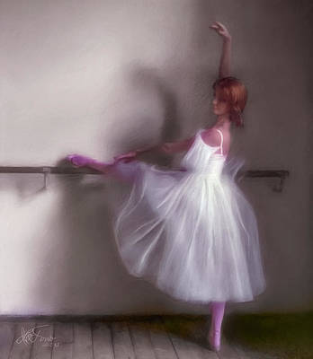 Poster featuring the photograph Ballerina-2 by Juan Carlos Ferro Duque