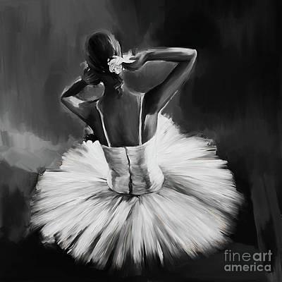 Ballerina Dance 0444a Poster