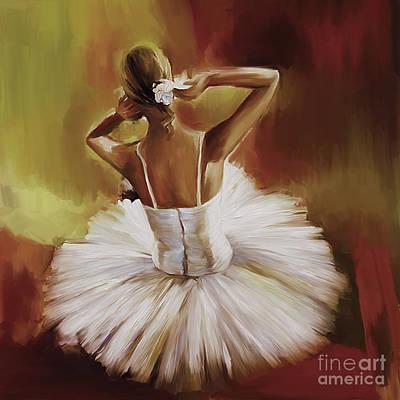 Ballerina Dance 0444g Poster