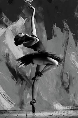 Ballerina Dance 0901 Poster by Gull G