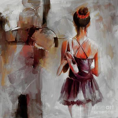 Ballerina Dancer 9901 Poster by Gull G