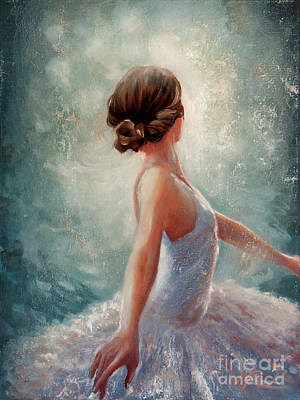 Ballerina Dazzle Poster