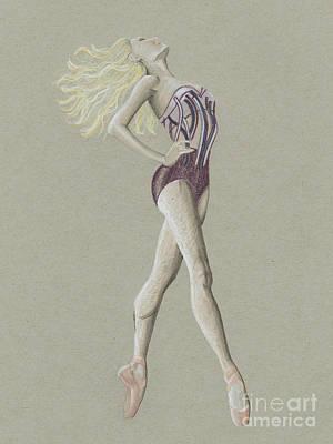 Ballerina Lady Poster