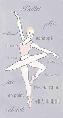 Ballerina Poster by Priscilla Wolfe
