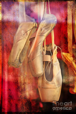 Ballerina Shoes Poster