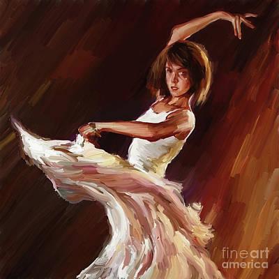 Ballet Dance 0706  Poster by Gull G