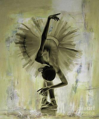 Ballet Dance 67yh Poster by Gull G