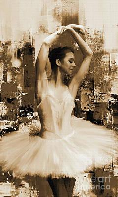 ballet dancer VC45 Poster