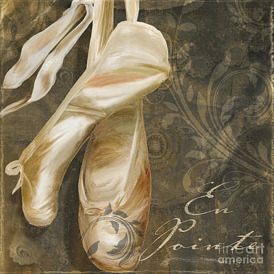 Ballet Danse Poster by Mindy Sommers