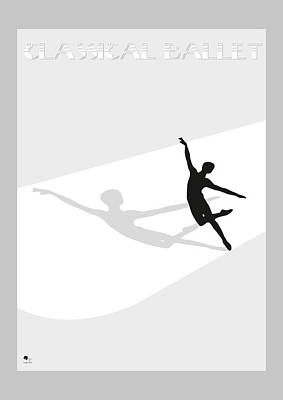Ballet Poster by Joaquin Abella