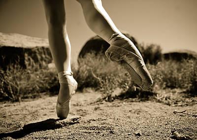 Ballet Pointe Poster