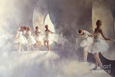 Ballet Studio  Poster by Peter Miller