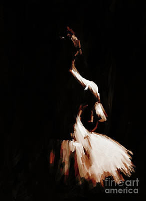Ballet Woman 9j Poster by Gull G