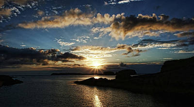 Ballintoy Sunrise Poster