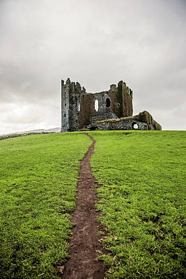 Path To The Ballycarbery Castle Ruins Poster