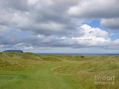 Ballyliffin Ireland Golf 1 Poster by Jan Daniels