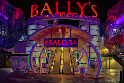 Ballys Hotel Las Vegas Poster by Susan Candelario