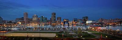Baltimore At Sunset Poster