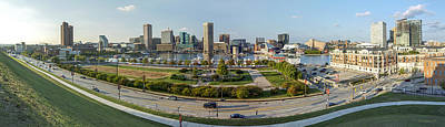 Baltimore - Inner Harbor - Pano Poster by Brian Wallace