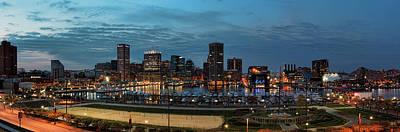 Baltimore Panorama Poster