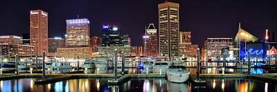 Baltimore Waterfront Poster by Frozen in Time Fine Art Photography
