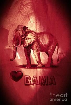 Bama Poster by Maria Urso