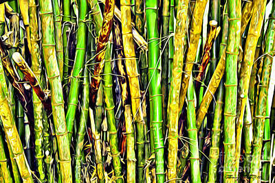 Bamboo Poster by Carey Chen