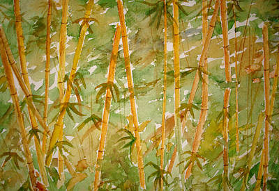 Bamboo Jungle Poster