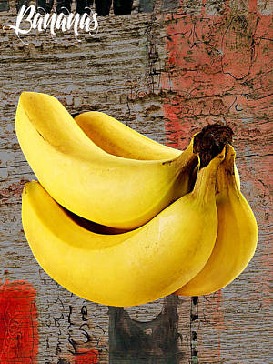 Banana Collection Poster by Marvin Blaine