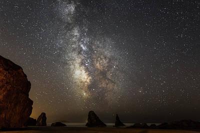 Bandon And Milky Way Poster