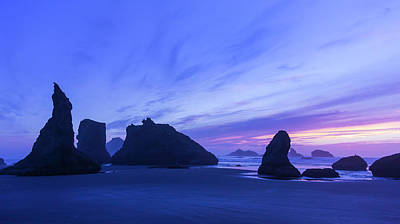 Bandon Blue Hour Poster