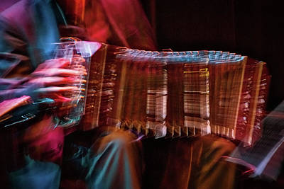 Bandoneon Player Poster by Stuart Litoff