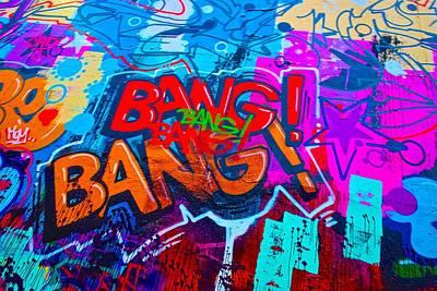 Bang Graffiti Nyc 2014 Poster by Joan Reese
