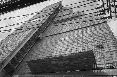 Poster featuring the photograph Bangkok Under Construction 2 by Dean Harte