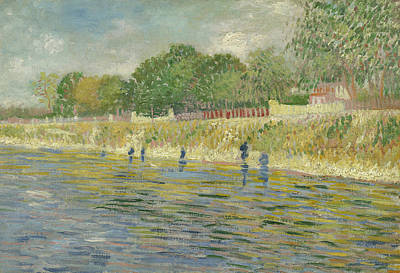 Bank Of The Seine Poster by Vincent van Gogh