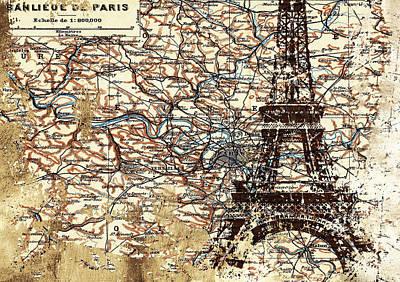 Banlieue De Paris Poster